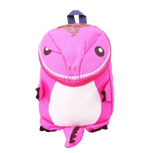 Cute Kid Toddler 3D Cartoon Dinosaur Backpack Kindergarten Schoolbag Animal Bag
