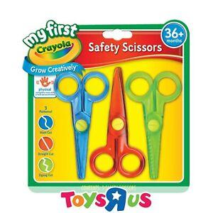 Crayola 3 My First Safety Scissors