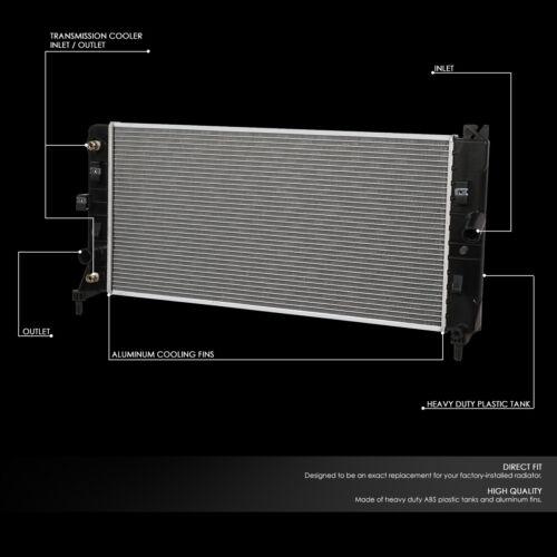 FOR 06-11 IMPALA 3.5L 08-09 LACROSSE AT OE STYLE ALUMINUM CORE RADIATOR DPI 2837