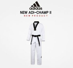 Details about Adidas Adi Champion2 New TaeKwonDo Uniform Dobok,TKD, KukKiwon,Korea Sport