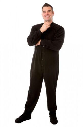 Adult Footed pyjama Footie Drop Siège Homme Femme Pjs choisissez votre couleur et taille