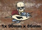 1x Ace  Vinyl Graphic, Sticker, Decal, Custom, Bike, Car ,Tuning k04