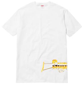 ed2c99d96b50 Details about Supreme SS17 Automatic Tee Gun Box Logo T-Shirt MADONNA MONA  LISA ROCKS LIQUID S