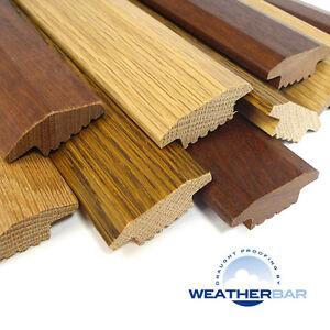 Solid Oak Wood Carpet Door Bars Threshold Strips
