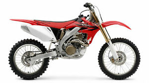 MAISTO-1-18-Honda-CRF450R-MOTORCYCLE-BIKE-DIECAST-MODEL-TOY-NEW-IN-BOX
