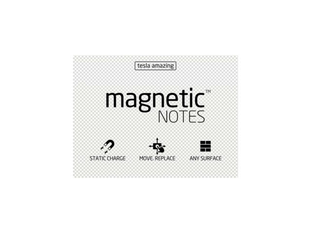 Tesla Amazing Magnetic Notes M-size mm Pastel Pearl 100x74