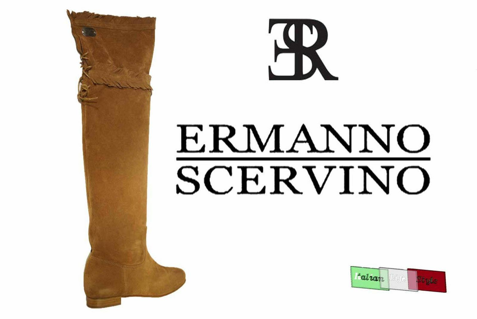 Nuevo zapatos señora botas Ermanno Scervino UK 3 UE 36 Made in