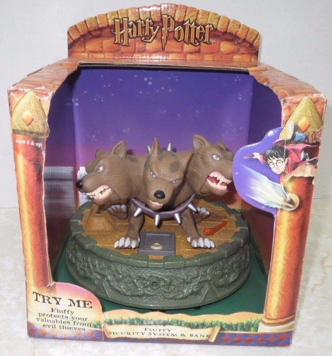 Harry Potter Potter Potter Fluffy Security System Bank Toy Figure Room Alarm Tiger Hasbro 7a52ec