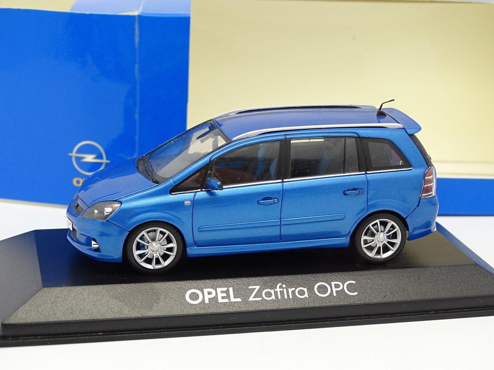 Minichamps 1 43 - Opel Zafira OPC blue