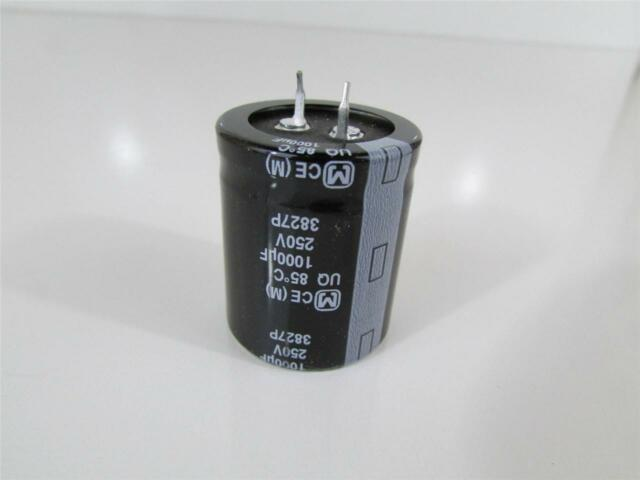 3 x 2.2UF 250V 105C Radial Electrolytic Capacitor Panasonic JAPAN