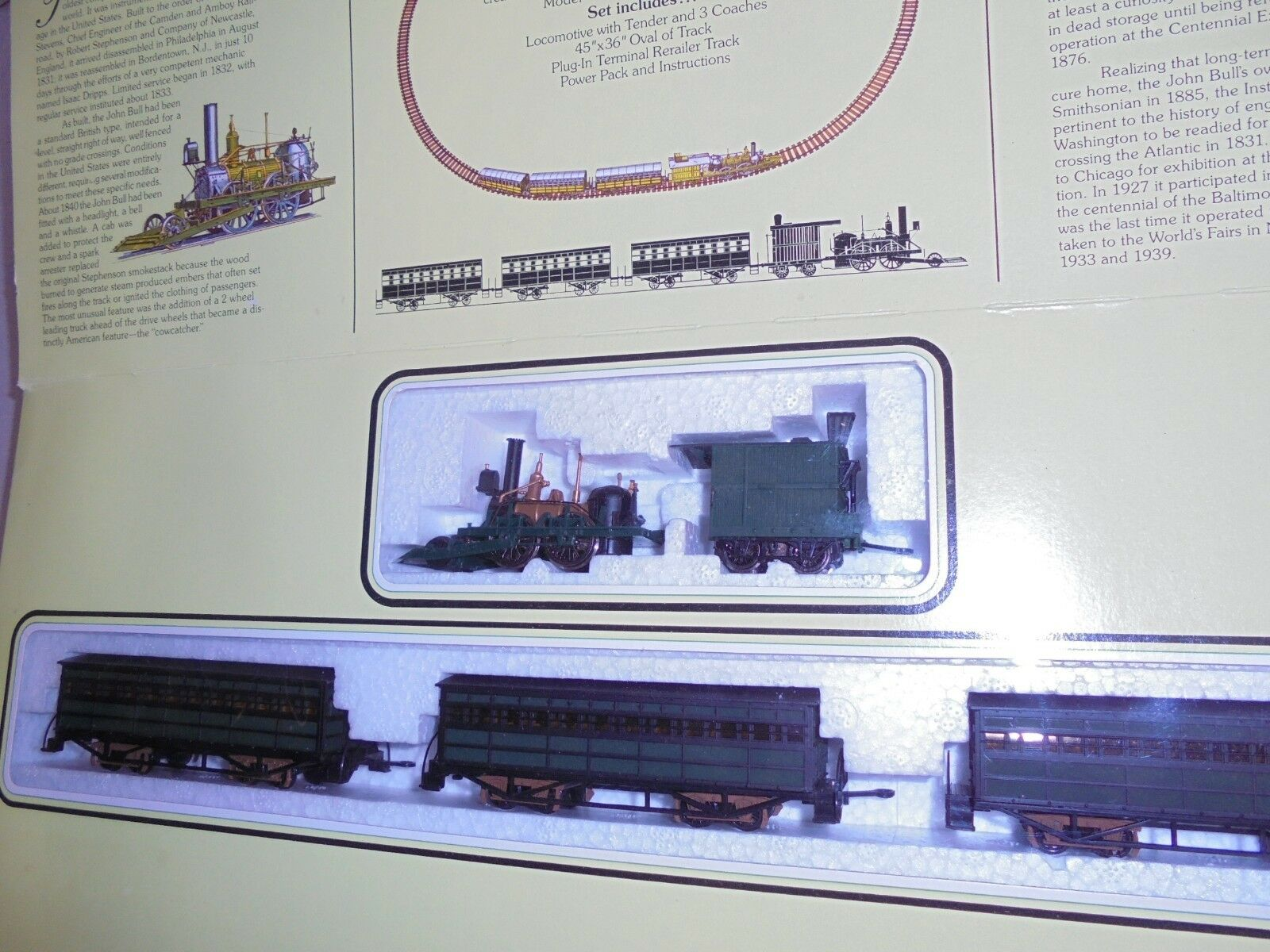 BACHMANN TWO TWO TWO HO SCALE TRAIN SETS NICE 8fbd4b