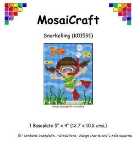 MosaiCraft-Pixel-Craft-Mosaic-Art-Kit-039-Snorkelling-039-Pixelhobby