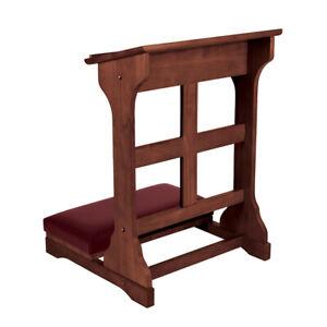 Kneeler-Holy-Cross-Walnut-Stain-Maple-Hardwood