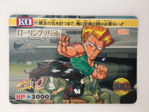 Street Fighter II/' Turbo Carddass 77 KO