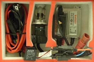KTM Duke 690 06-10 HID Bi-Xenon Light Slimline Headlamp Conversion Kit H4 Hi/Lo