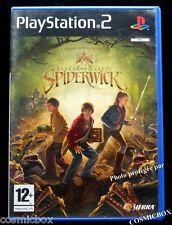 Les Chroniques de SPIDERWICK jeu video console SONY PlayStation 2 complet testé