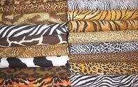 Christmas Tree Skirt Quilt 20 Animal Skin Print Fabric Upick Tiger Leopard Cow