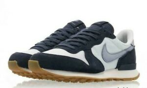 Details zu Nike Womens Internationalist Gr:36 Sneaker blau grau Neu 828407 102 saku triax