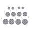 Set-de-12-electrodos-para-el-dispositivo-TENS-EMS miniatura 2