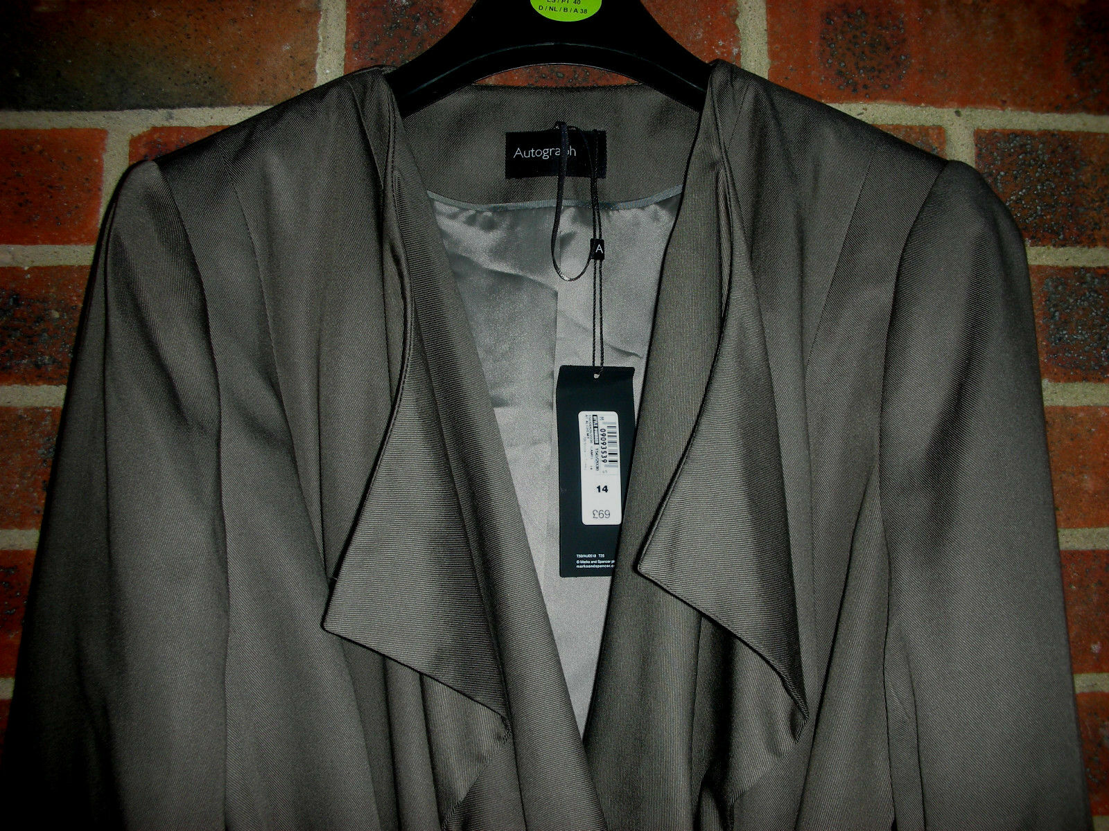 New taupe green green green taupe Autograph   UK size 14  RRP 69£ a0d8a2