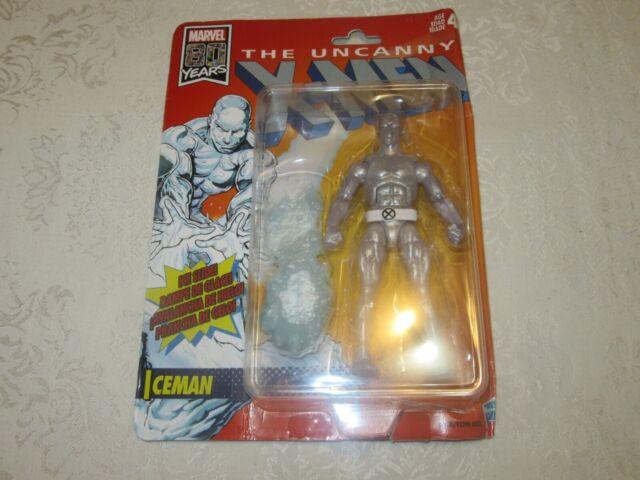 Hasbro Marvel Retro The Uncanny X-Men Iceman with Ice Slide Action Figure