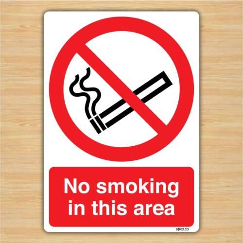 148x210mm Divieto di fumare in questo settore-non fumare segnale Adesivo Vinile da stika.co