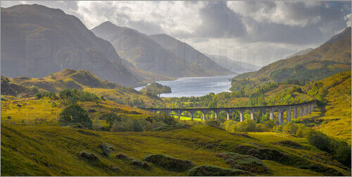 Alan Copson Premium poster Glenfinnan Railway Viaduct