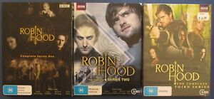 ROBIN-HOOD-BBC-SERIES-COMPLETE-SEASONS-1-2-amp-3-GOOD-CONDITION-NEW-USED