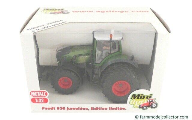 Fendt 936 Sondermodell jumelèes 1 32 Innov-Agri 2006