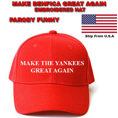 MAKE THE YANKEES GREAT AGAIN HAT Trump Inspired PARODY FUNNY EMBROIDERED