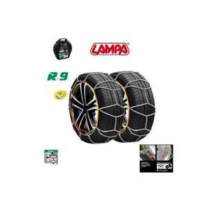 Gruppo 7 Catene da neve 9 mm RENAULT CLIO pneumatici 195 50 R16 195//50//16