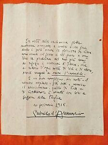 W1GABRIELE D'ANNUNZIO MAS LA BEFFA DI BUCCARI-MESSAGGIO AGLI AUSTRIACI1918 COPY