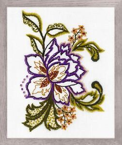 Broderie kit par Riolis 1687 Fleur Sketch  </span>