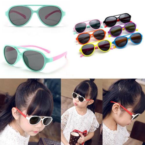 Details about  /Kids Retro Polarized Sunglasses Boys Girls Sport Outdoor UV400 Glasses Fashion