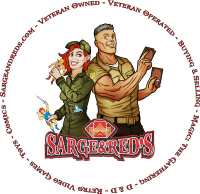 Sgt Red's Magic Cards and Comics