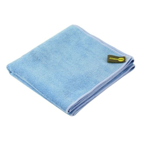 Fitness Mad Gym Workout Exercise Sweat Towel in Blue