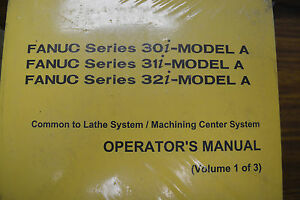 Fanuc 32i Manual