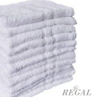 6 100% Cotton Hotel Washcloth Towels 12x12 Regal Home Collection on sale