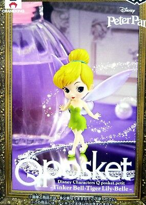 Attractive Fashion 100% Authentic Peter Pan Q Posket Petit Disney Characters Tinker Bell