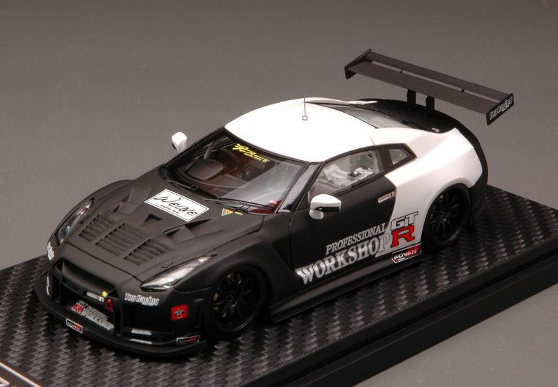 NISSAN GT-R  r35  TEST CAR 2010 1:43 MODEL 8316 HPI Racing
