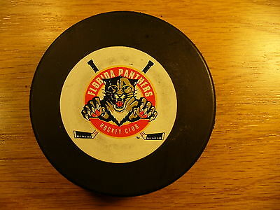 Hockey-other Rapture Nhl Florida Panthers '94 Draft Day Hockeyfest Hockey Puck Check My Other Pucks