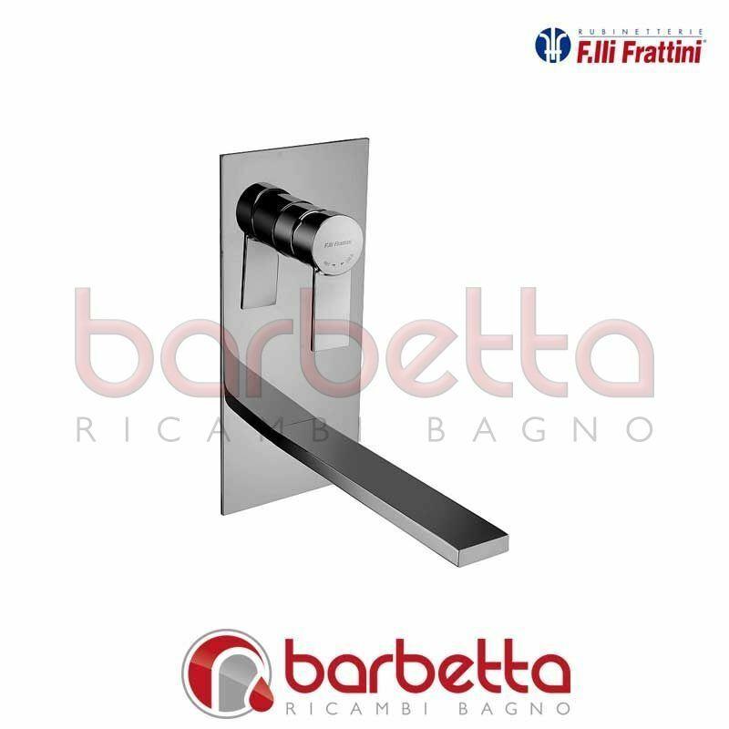 BATTERIA LAVABO A PARETE SENZA SCARICO GAIA FRATTINI 55035