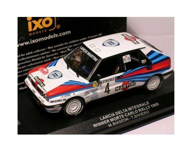 Lancia Delta Integrale  Winner Monte Carlo  1989 (IXO 1 43   SCR002)