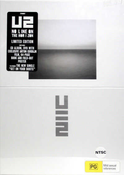 U2 - No Line on The Horizon Deluxe Box Limited Edition CD/DVD set + Book