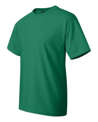100/% Cotton T-Shirt Men/'s S-XL Tagless Tee 5180 Hanes Beefy-T Brand NEW 6.1 oz
