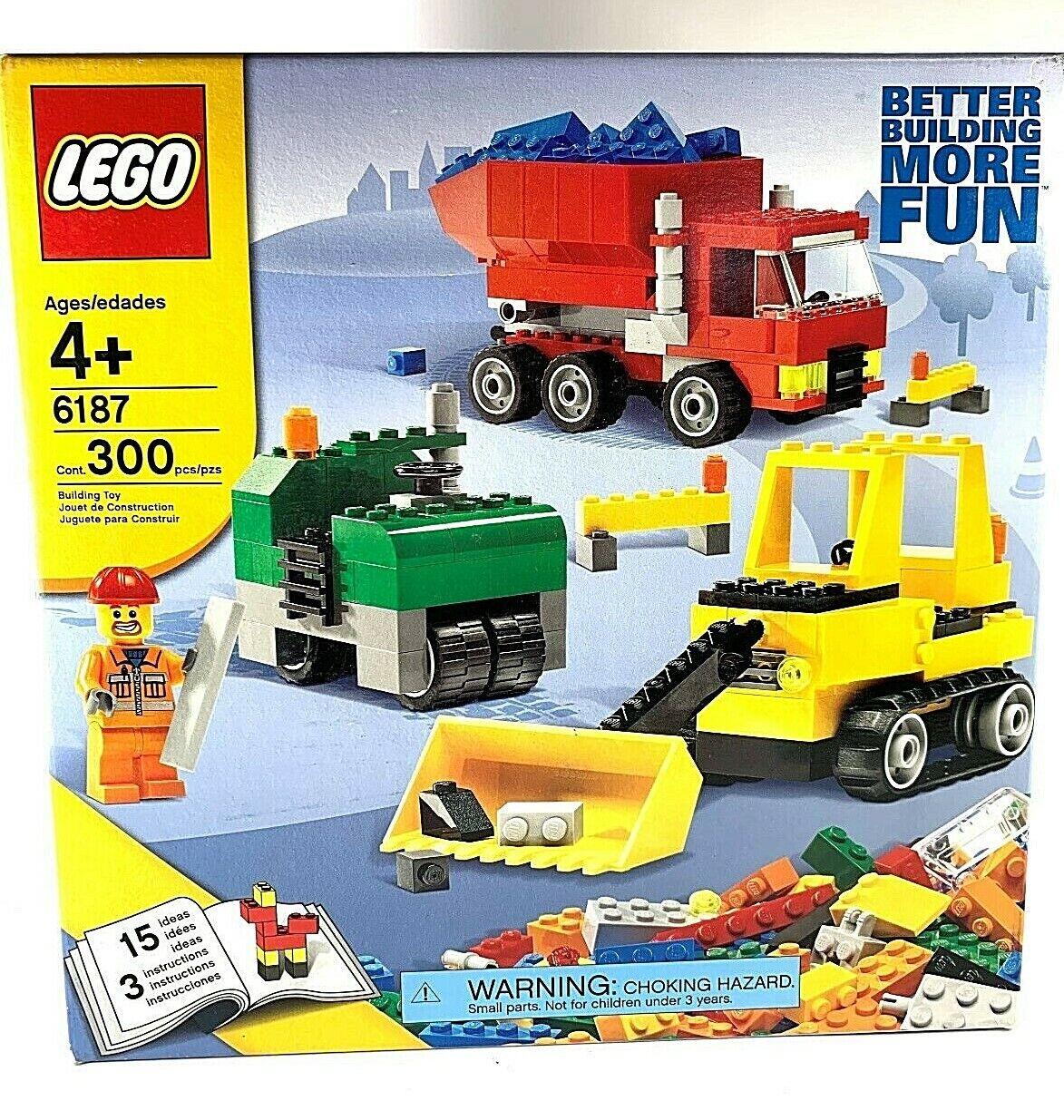 LEGO Creator 6187  la construction routière Set Brand nouveau in Box  en soldes