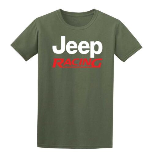 Jeep Racing  Mens T-Shirt