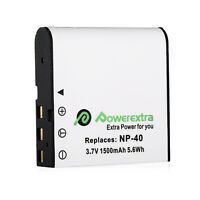 Np-40 1500 Mah Li-ion Battery For Casio Np-40 Np40 Exilim Pro Ex-p600 Ex-z850