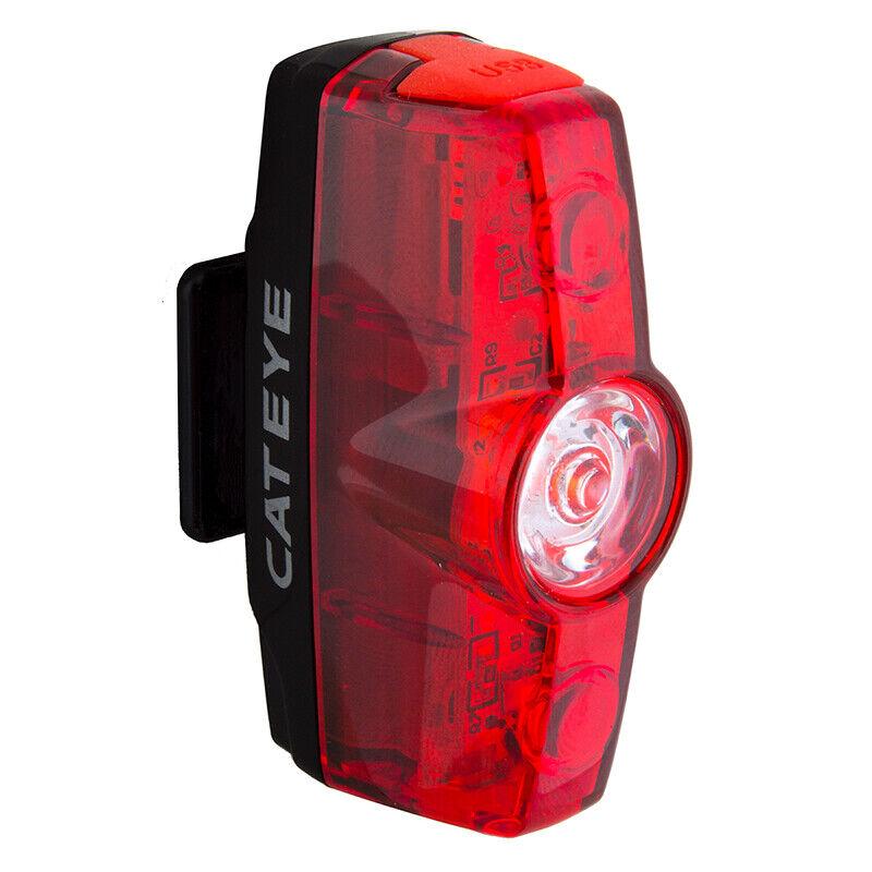 CATEYE RAPID BICYCLE BIKE TAIL LIGHT TAILIGHT TL-LD630R 3-LED REAR NEW