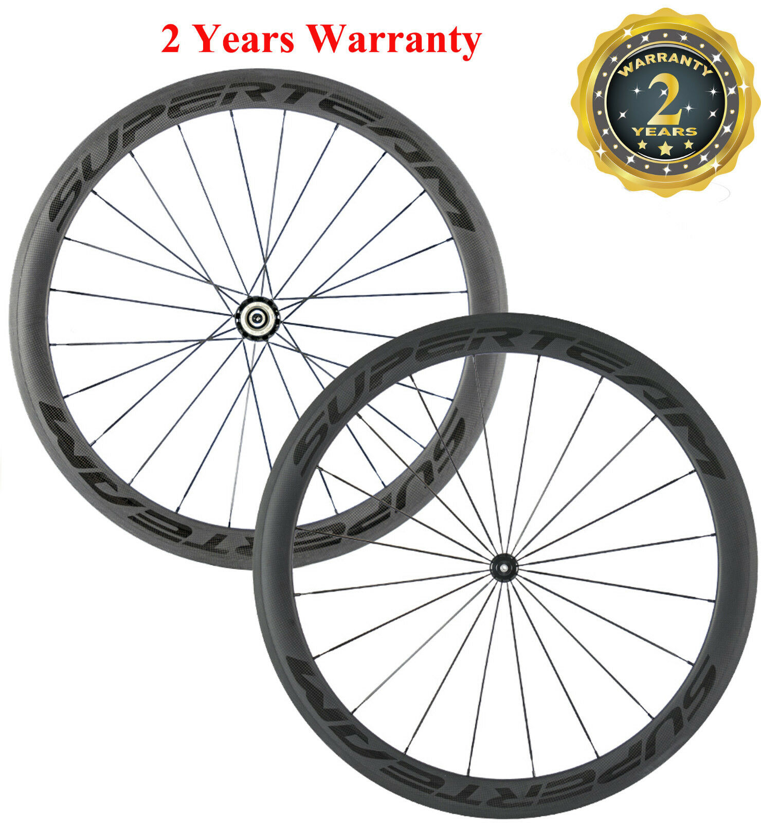 Superteam Carbon Wheels  50mm Clincher Road Bike Cycling R13 Hub Wheelset 700C  very popular